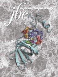 Front Matter (PDF) - Journal of Biological Chemistry