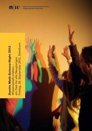 Flyer als PDF zum Download - Fachhochschule Nordwestschweiz