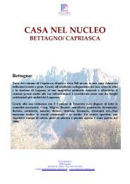 CASA NEL NUCLEO BETTAGNO/ CAPRIASCA ... - Homegate.ch