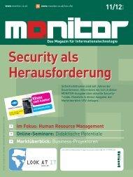 Die komplette MONITOR-Ausgabe 11-12/2009 können