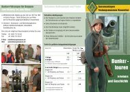 touren Erlebnis und Geschichte Bunker - Festungsmuseum