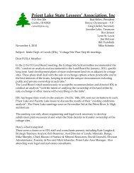 Priest Lake State Lessees' Association, Inc