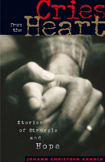 Cries from the Heart: Stories of Struggle and Hope - Plough