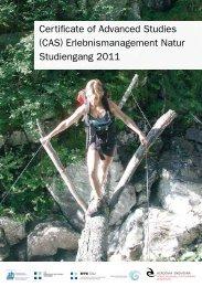 Certificate of Advanced Studies (CAS ... - HTW Chur