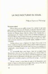 l'article - Philippe Raymond Thimonga