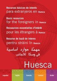Recursos Básicos de interés para extranjeros en Huesca