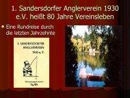 1. Sandersdorfer Anglerverein 1930 e.V.