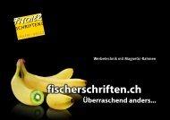 Infos... - Fischer Schriften AG
