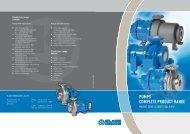 Delivery program Pumps - Klaus Union
