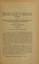 Mittheilungen der Erdbeben-Commission der - Oberösterreichisches ...