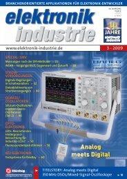www.elektronik-industrie.de 3 - 2009 - SKY Messtechnik GmbH