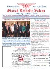 126th American Fraternal Alliance - Slovak Catholic Sokol