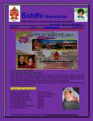 SMF newsletter March 2012