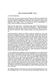Bericht 1. Teil PDF (63 KB) - Swiss Jaguar E-Type Club