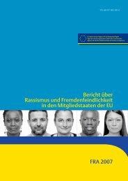 Bericht über Rassismus und Fremdenfeindlichkeit in den ...