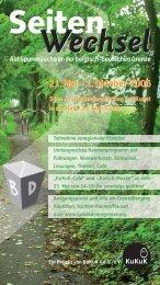 40 seitiges Programmheft - bei KuKuK