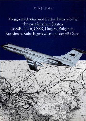 Fluggesellschaften und Luftverkehrssysteme der sozialistischen ...