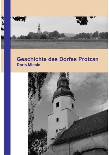 Geschichte des Dorfes Protzan - in Protzan/Schlesien!