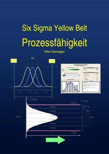 Prozessfähigkeit - Six Sigma