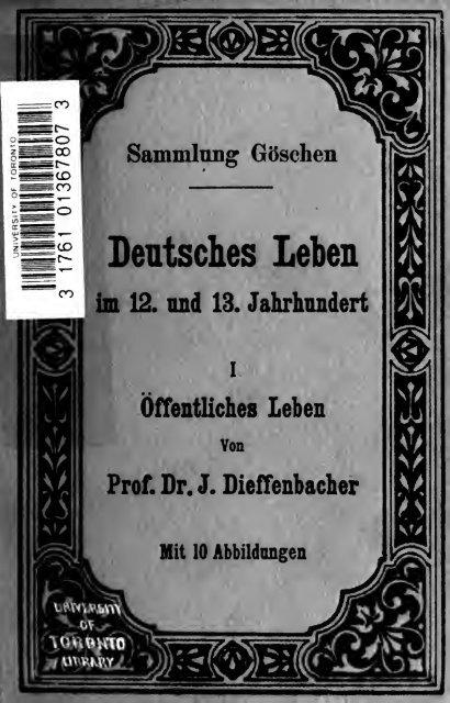 Deutsches Leben im 12 und 13 Jahrhundert, Realkommentar zu ...