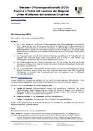 Juli 2010 - Bündner Offiziersgesellschaft