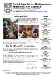 September 2006 - Mitterkirchen im Machland