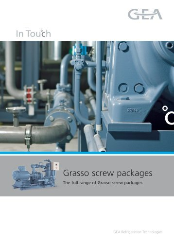 Grasso screw packages - GEA Refrigeration Technologies