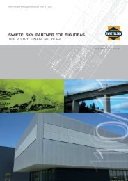 swietelsky. partner for big ideas. the 2010/11 financial year.