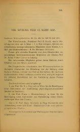 VIII. SITZUNG VOM 12. MÄRZ 1903.