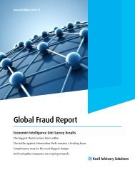 Global Fraud Report - management thinking - Economist ...