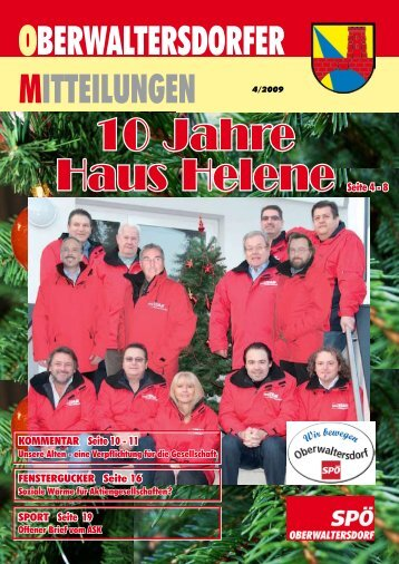 10 Jahre Haus Helene - SPOE Oberwaltersdorf