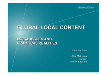 global local content