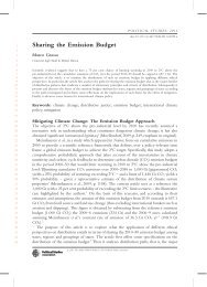 Sharing the emission budget - Marco Grasso