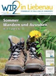 Sommer Wandern und Ausruhen - St. Christoph Thondorf