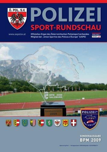 BPM 2009 - Österreichischer Polizeisportverband