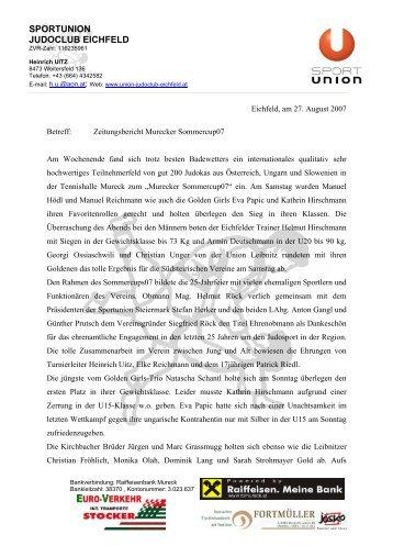 Murecker Sommercup07 - SPORTUNION Steiermark