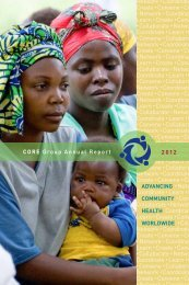 2012 Annual Report - CORE Group