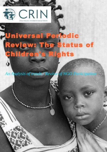 Universal Periodic Review: The Status of Children's Rights - CRIN