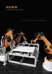 Interim report for 2nd quarter 2008 - KUKA Aktiengesellschaft