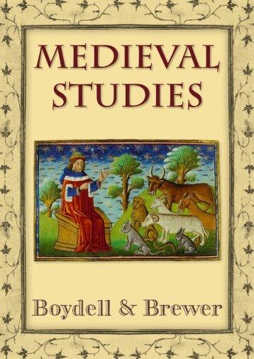 Medieval Studies 2006