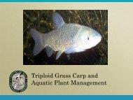 2011 Grass Carp Presentation - Florida Invasive Species Partnership