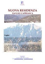 NUOVA RESIDENZA VAGLIO - Fiduciaria Capriasca SA