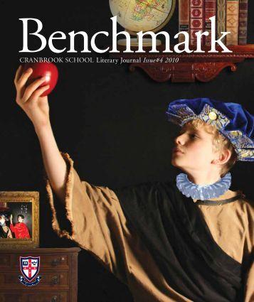 Literary Journal Issue#4 2010 - Cranbrook School