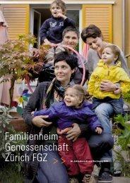 Jahresbericht 2010 - Familienheim-Genossenschaft Zürich