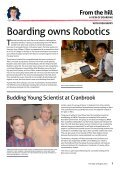 The sports pages - Cranbrook School - Page 7