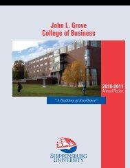 John L. Grove College of Business - Shippensburg University