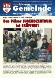 Das Pölser JugenDzentrum - Gemeinde Pöls