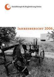 Jahresbericht 2006 - Fintan