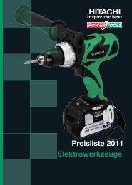Katalog Elektrowerkzeuge - ABT Pumpentechnik