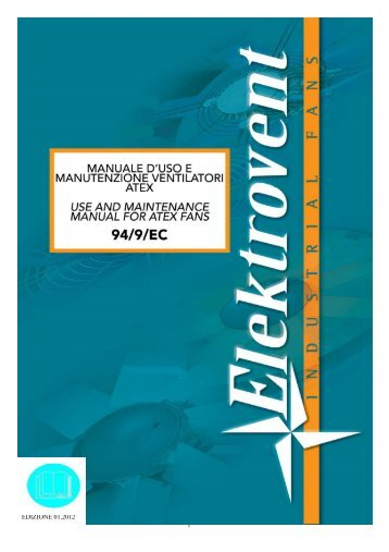 Manuale ATEX ITA / ENG - Elektrovent